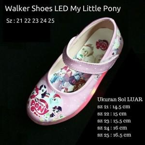 Sepatu Anak Perempuan Led Little Pony Kanvas Tokopedia