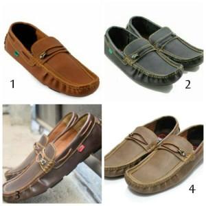 Sepatu Sandal Slop Pria Mocasin Tokopedia