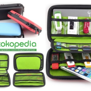 Gadget Wallet Tas Hp Tempat Powerbank Flashdisk Usb Dll Tokopedia