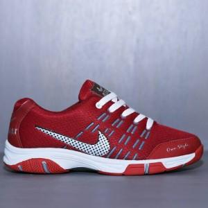 Sepatu Sport Nike Airmax Badminton Hitam Tokopedia