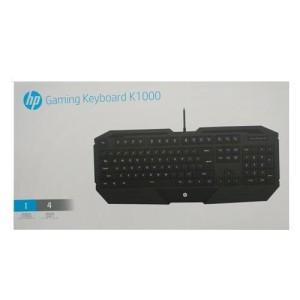 Hp K1000 Keyboard Gaming Tokopedia