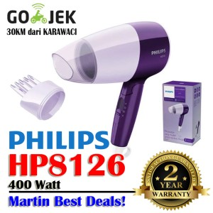 Philips Hp 8126 Hair Dryer 400 Watt Nozel Corong Sikat Tokopedia