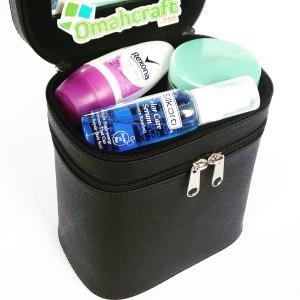 Tempat Kosmetik Warna Hitam Full Tempat Alat Make Up Make Up Case Tokopedia