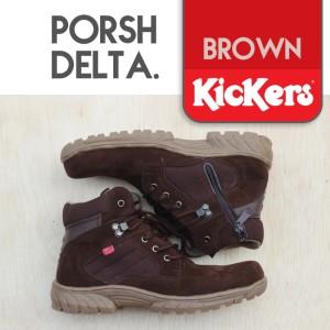Sepatu Kickers Boots Safety Porsh Delta Tokopedia