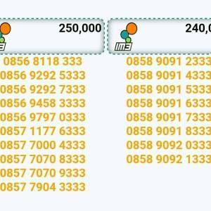 Jual Nomor cantik IM3-INDOSAT seri triple 333 buntut hoki rapi bagus murah