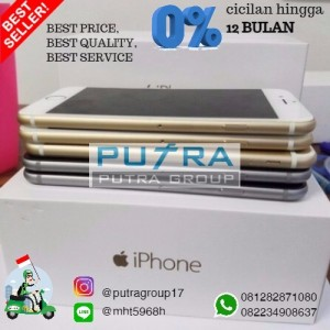 Apple Iphone 6 Plus 64 Gb Silver Tokopedia