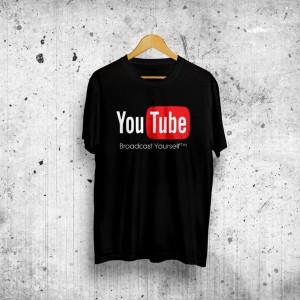 Daftar Harga Baju Distro Kaos Tshirt Youtube Icon Jk Terpopuler ... 8d1aff2055