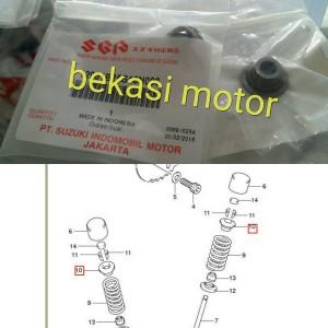 Retainer Klep Suzuki Satria Fu 150 Original Suzuki Genuine Part Harga Satuan Tokopedia