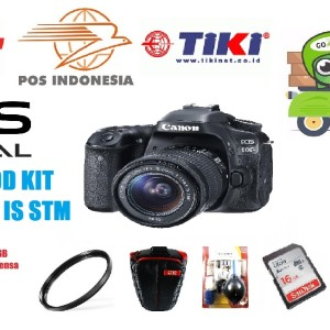 Canon Eos 80d Kit 18 55mm Tokopedia