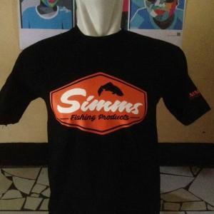 kaos/baju/t shirt MANCING SIMMS FISHING PRODUCT
