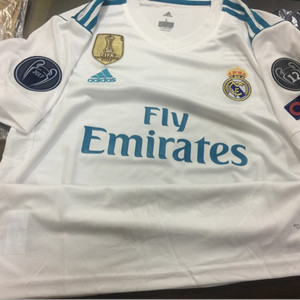 Jersey Baju Bola Real Madrid Away 2017 2018 Official Tokopedia