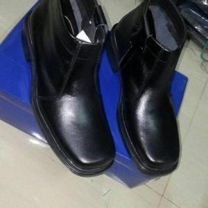 Sepatu Pdh Resleting Kulit Tokopedia