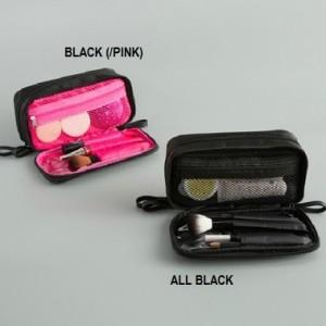Double Zip Make Up Bag Tas Make Up Tempat Kosmetik Cosmetic Bag Tokopedia