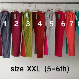 Celana Legging Panjang Anak Polos Bahan Spandex Tokopedia