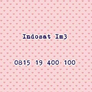 Jual Nomor Cantik Indosat Im3 Seri Double Ratusan 400 100,Minimalis #TN 396