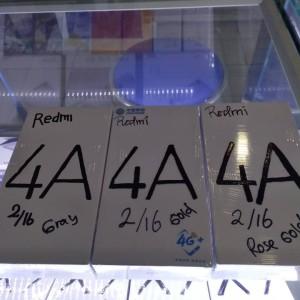 Xiaomi Redmi 4a 16gb Ram 2gb New 100 Ori Tokopedia