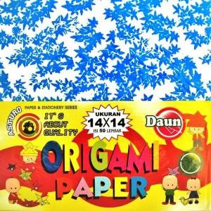 Jual Kertas Origami Asturo 14x14 cm Motif