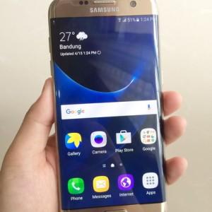 Jual Samsung Galaxy S7 Edge Single Sim Tokopedia