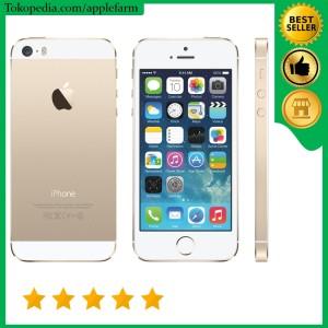 Iphone 5s 16gb Gold Second Original Tokopedia