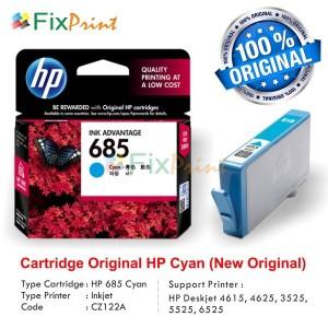 Tinta Printer Hp 685 Cyan Tokopedia