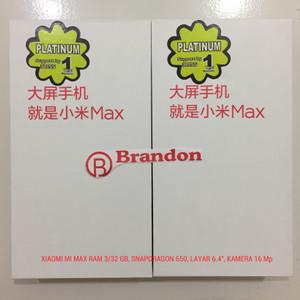 Xiaomi Mi Max 3 Ram 4gb Rom 64gb Original Bnib Tokopedia