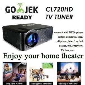 Led Projector 96 Rigal Rd808 1280x800 3200 Lumens Tv Tuner Konek Smartphone Tokopedia