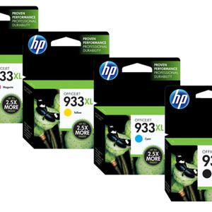 PAKET CARTRIDGE HP 932XL / 933XL ORIGINAL