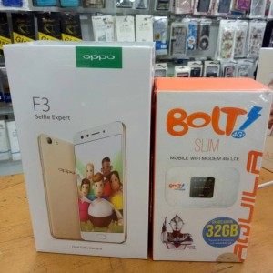 Oppo F3 4gb 64gb Free Case Tokopedia