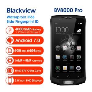 Blackview Bv8000 Pro 64gb Ram 6gb Pro Triple Proofing Ip68 Waterproof Dustproof Dropproof Outdoor Smartphone Tokopedia