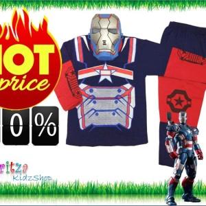 Baju Kostum Anak Ironman Baju Anak Laki Laki Tokopedia