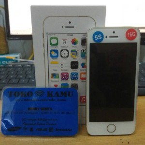Iphone 5s 16 Gb Gold Grey Silver Mulus Japan Fullset Box Oem Tokopedia