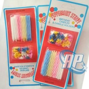 lilin papermint / lilin ulang tahun / lilin ultah / papermint / lilin