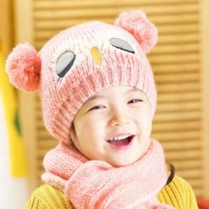 Topi dan syal anak musim dingin / winter