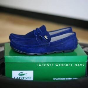 Sepatu Lacoste Casual Suede Tokopedia