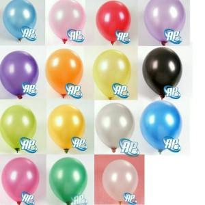 Balon metalik 12 inc / balon latex metalic/ balon metalic/ balon karet