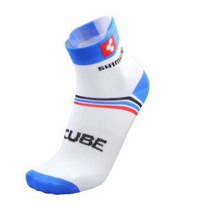 Kaos Kaki Sepeda Cube Shimano Socks Tokopedia