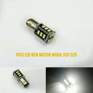 Led Stop S25 Lampu Rem Smd Dobel Blitz 12v Untuk Mobil Motor Harga Per 2 Pc Tokopedia