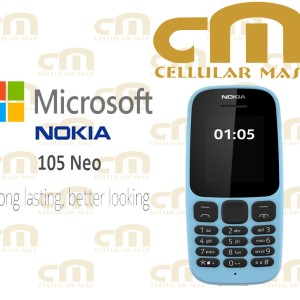 Nokia 105 Neo Dual Sim Garansi Resmi Tokopedia