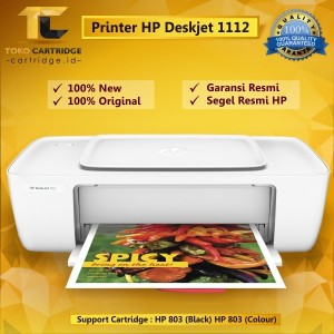 Hp Deskjet 1112 Printer Tokopedia