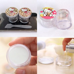 Promo Botol Tempat Cream Krem Kosmetik Serbaguna Hello Kitty Tokopedia