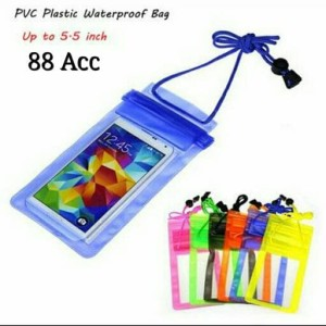 Waterproof Case Bag Kantong Pelindung Hp Smartphone Iphone Anti Air Tokopedia