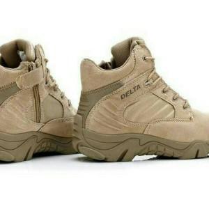 Sepatu Delta Force Tactical Outdoor 6 Inc Black Hitam Tokopedia