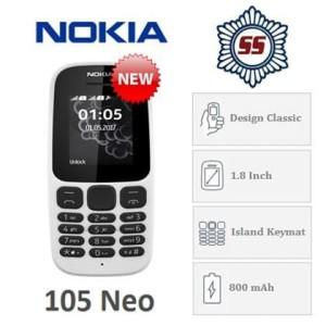 Nokia 105 Neo Dual Sim Tokopedia