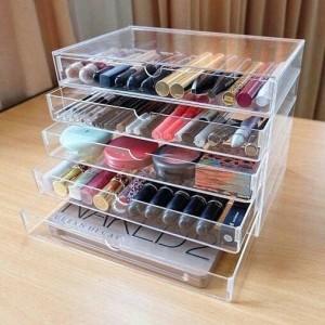 Akrilik Makeup Organizer Rak Kosmetik Akrilik Kosmetik I6 Tokopedia