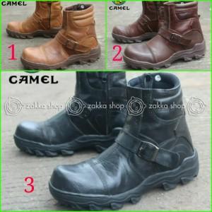 Sepatu Boots Safety Camel Tokopedia