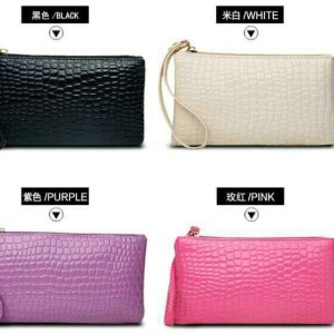 Pouch Bag Polos Clutch Tas Serbaguna Penyimpan Kosmetik Hp Uang Tokopedia