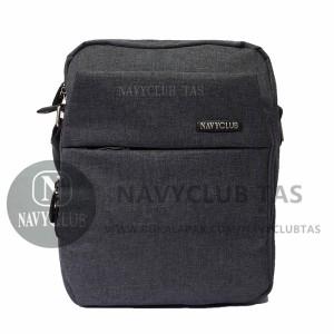 Navy Club Tas Selempang Travel Tas Punggung Sling Bag 5521 Hitam ... 94221692c5