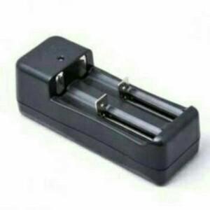 Charger Baterai 2 Slot Vape Vapor Rokok Elektrik Power Bank