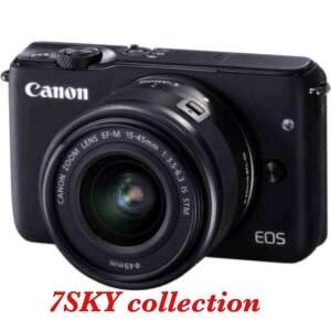 Canon Eos M10 Black With Lensa 15 45 Bonus Sd16gb Bergaransi Resmi Datascrip Tokopedia
