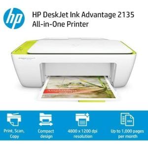 Hp Deskjet Ink Advantage 2135 Tokopedia